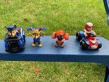 Paw Patrol Ryder and his Rescue ATV ~ Zuma and Chase and cruiser