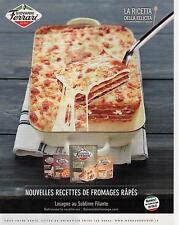 ▬► PUBLICITE ADVERTISING AD Giovanni Ferrari Lasagne fromage 2013