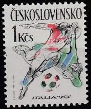 Tjechoslowakije postfris 1990 MNH 3049 - WK Voetbal Italië