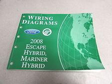2008 Ford Escape Mariner Hybrid Wiring Diagram Service Repair Manual