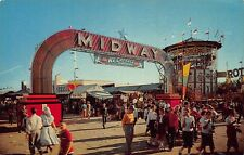 TX - 1950's Midway at Texas State Fair in Dallas, Texas