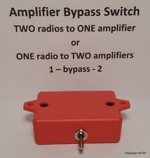 Ameritron ARB-704 BYPASS switch Amplifier keying relay interface amateur radio
