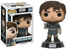 Funko Pop! Star Wars Rogue One - CAPTAIN CASSIAN ANDOR  #139 - IN HAND UK
