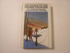 Dana Girls #2, The Riddle of the Frozen Mountain, White Spine Picture Cover