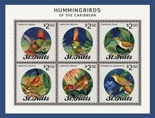 St Kitts - Hummingbirds of the Caribbean, 2014 - Sheetlet of 6 MNH