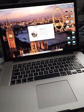 """Apple MacBook Pro Retina 15.4"""" 2.8GHz Quad Core i7 512GB SSD 16GB RAM MID 2015"""