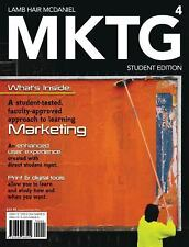 MKTG 4 (with Marketing CourseMate with eBook Printed Access Card), McDaniel, Car