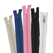 Black KGS 15 inch Nylon Zipper Zipper 12 Zippers//Pack