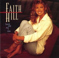 Faith Hill - Take Me As I Am album - 1993 Canada - Columbia House