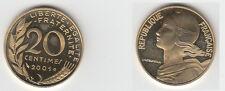Gertbrolen 20 Centimes Cupro-Alu-Nickel 2001 BE Belle épreuve