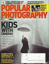 Popular Photography Magazine Apr 2014 Kids with Cameras Make a Portrait Pop