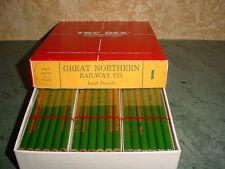Vintage GREAT NORTHERN RAILWAY/ RAILROAD Pencils, Half Gross (72) in Box, Unused