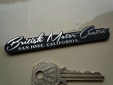 BRITANIQUE MOTEUR CENTRE Concessionnaires Autoadhésif  Voiture Badge San Jose CA