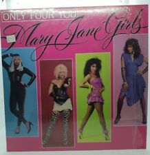 MARY JANE GIRLS - ONLY FOR YOU - VINYL LP 33 - M/NM - PR. IN USA 1985