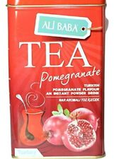 Pomegranate Tea Instant Drink Mix Ali Baba 8.8 Ounce - Tin Box