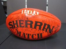 "Sydney : 2005 Premiership Team signed Red ""Match"" Sherrin Football"