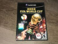 2002 Fifa World Cup Nintendo Gamecube w/Case Authentic