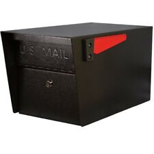 Large Lockable Mailbox Locking Mailboxes Residential Black Modern Heavy Duty