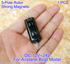 DC12V~24V Dual Shaft Strong NdFeB Magnetic Mini Motor for RC HM Toy Car Boat DIY