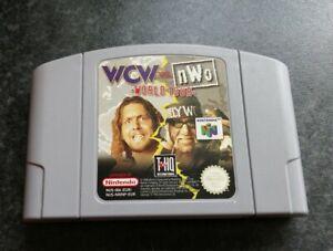 NINTENDO N64 GAME WCW VS NWO WORLD TOUR WRESTLING GAME ONLY TESTED LOVELY