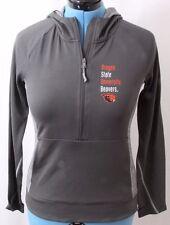 Champion Oregon State OSU Beavers 1/2 Half Zip Athletic Pullover Hoodie Womens M