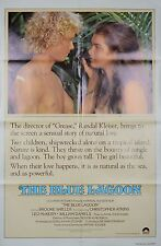 1980 THE BLUE LAGOON 1SH ORIGINAL MOVIE POSTER BROOKE SHIELDS MODEL ROMANCE