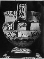Italia, Museo archeologico nazionale, Firenze, vaso François Vintage Print Tir