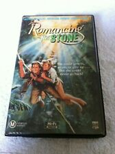 Romancing the Stone VHS Ex-rental video tape CBS Fox Clamshell Danny De Vito