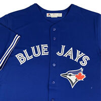 Majestic Cool Base Toronto Blue Jays MLB Baseball Jersey Mens XL X-Large Blank