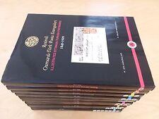 TURKEY ILLUSTRATED OTTOMAN TURKISH POSTMARKS 10 VOLUMES CATALOG TURKISH ENGLISH