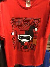 D.C. Comics Japanese HARLEY QUINN Team Shirt. Brand New. Adult Size Large.