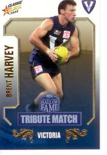 2008 Select AFL Classic HOF Tribute Match Card TM11 Brent Harvey (Nth Melb.)