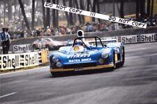 Fotografía 9x6 Jabouille/Migault Matra-Simca MS670C Le Mans 24hrs 1974