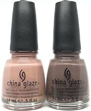 china glaze nail polish Dress Me Up 1121 + Foie Gras 1122 Hunger Games Lacquer