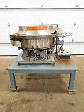AE-110, QUALITY FEEDER STAINLESS CENTRIFUGAL VIBRATORY BOWL FEEDER W/ RODIX CUBE