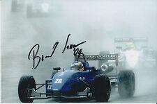 Bruno Senna Hand Signed Raikkonen Robertson Racing 9x6 Photo.