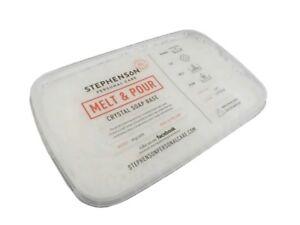Gießseife Rohseife weiß / opak 1kg Seifengießen Glycerinseife