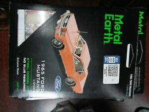 2019 3-D 1965 FORD MUSTANG EXCLUSIVE MODEL METAL EARTH~BRAND NEW~