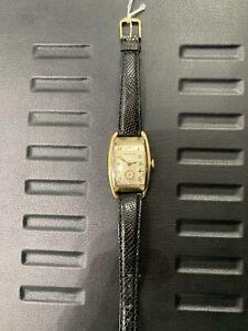 Vintage 1937 Bulova Wristwatch 10AE 21 Jewels 10K GF case