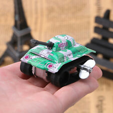 Vintage Tin Toys Friction Tank Kids Children Modern Clockwork Toy Gift