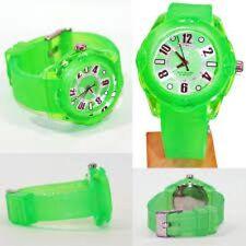 NEW Tendence 02013011 Women's Neon Green Color Hi-Tech Polycarbonate Tough Watch