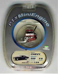 PTX MINI ENGINE  CHEVY  588 CUBIC INCH BIG BLOCK V-8 1:24 Scale