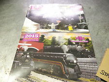 MTH Trains Year 2015 Volume One & Two Premier & Railking O Gauge Color Catalogs
