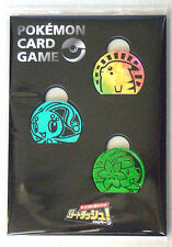 Pokemon Card Promo Plastic Coin Set Pikachu Manaphy Shaymin Start Dash Campaign