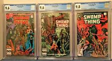 SWAMP THING 46, 47 & 48 CGC 9.6 X 2 & 9.8 WP ALL JOHN CONSTANTINE APPEARANCES.