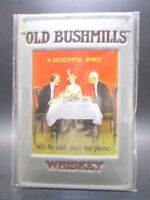 Old Bushmills Whiskey Spirit Blechschild Nostalgie Schild 30 cm