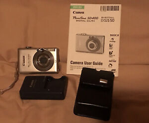 Canon PowerShot Digital ELPH SD400 / Digital IXUS 50 5.0MP Digital Camera