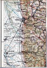 Weinheim Dossenheim Birkenau Hemsbach 1920 orig Teil-Karte/Ln. Wimpfen Heilbronn