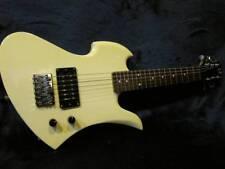 Very Good BC Rich Mockingbird Mini Sized Electric Guitar White Rare FS
