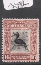 North Borneo SG 286, 16c Bird MOG (2dec)